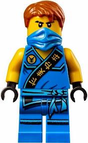 Nhân vật Ninja Jay Minifigure cao 4.5 cm