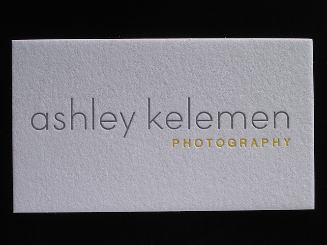 Letterpress photography business cards letterpress business cards reheart Gallery
