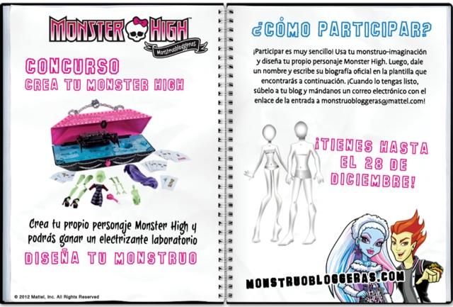 Monster High Crea Tu Monstruo. Monster High Crea Tu Monstruo ...