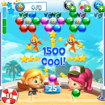 Bubble Bash Mania v1.0 for BlackBerry
