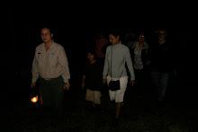 Documentacion de actividad de encuentro con fauna nocturna en la Hacienda Buena VIsta.