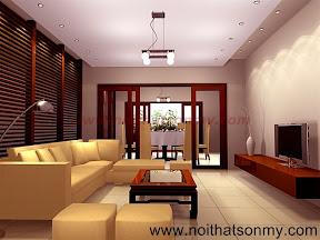 Mẫu thiết kế nội thất phòng khách 315