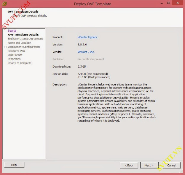 install VMware vSphere App HA 7