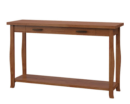 Cascade Sofa Table in Vermont Maple