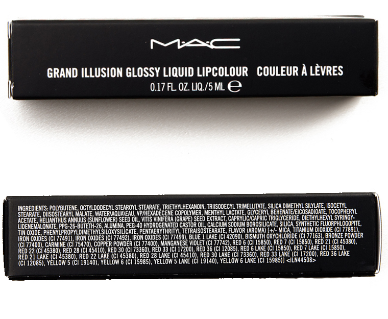 son MAC Grand Illusion Liquid