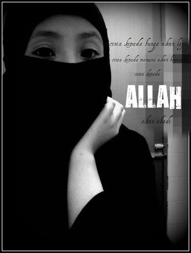 a little gurl in purdah