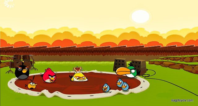 Angry Birds Friends: Freddie For A Day Intro screen 2