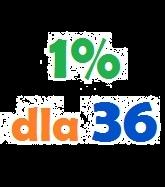 1% dla 36