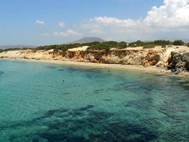 Naxos, spiaggia di Alyko