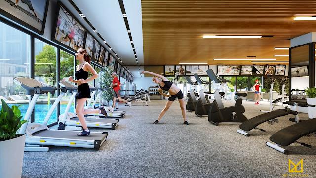 Phòng tập Gym dự án 360 Giải Phóng