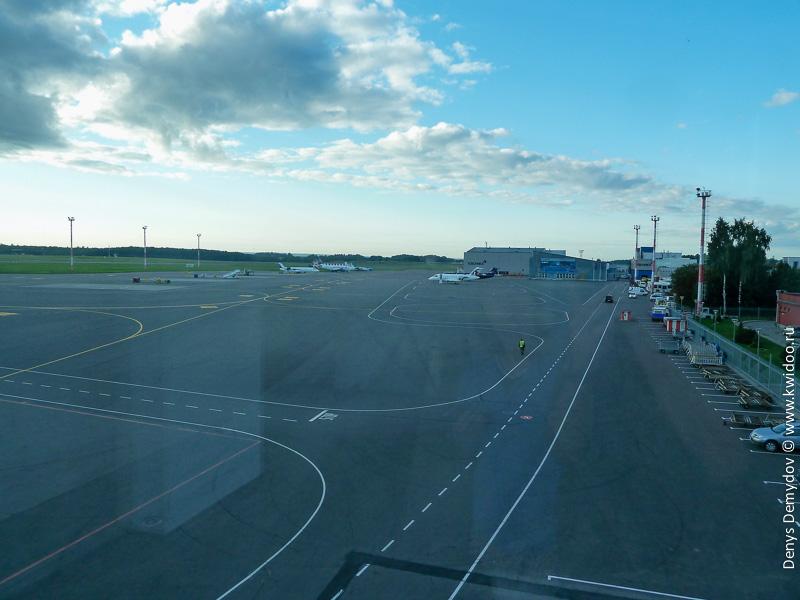 Пустующий аэропорт Вильнюса