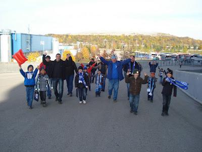 5.11.11: beim Spiel des TSV 1860 München gegen VfL Bochum