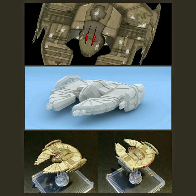 Droid Bomber de Mel Miniatures