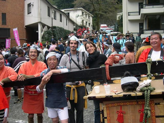 En mitad del desfile
