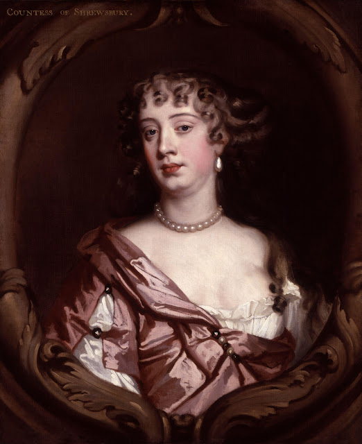 Peter Lely - Anna Maria Brudenell Countess of Shrewsbury