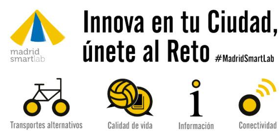 Programa Madrid Smart Lab para impulsar soluciones de ciudad inteligente