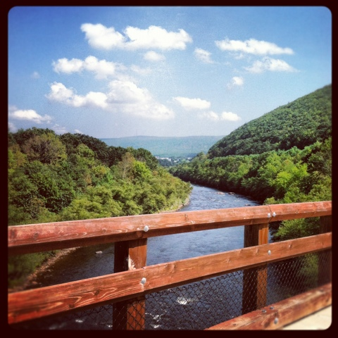 Lehigh River Nesquehoning Bridge instagram