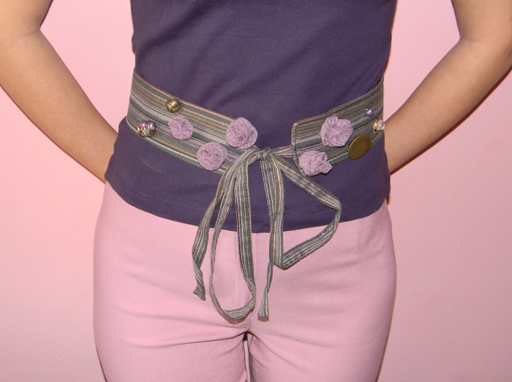 """Lilla Villian"" Waist-Belt"