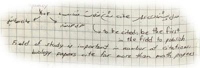 Paper citation probability