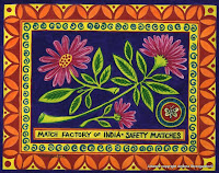 Indian Match box cover