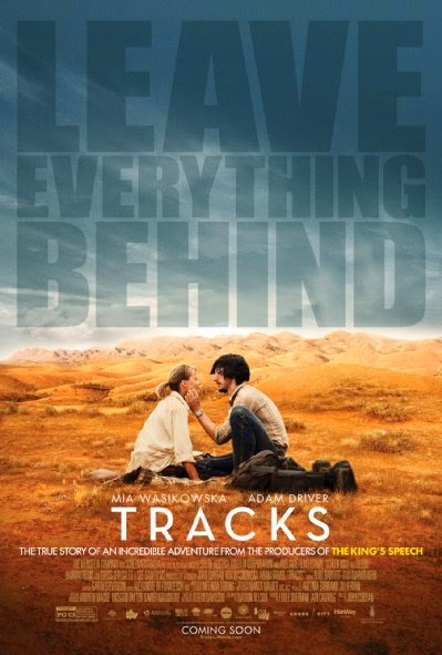 Poster Of English Movie Tracks (2013) Free Download Full New Hollywood Movie Watch Online At alldownloads4u.com