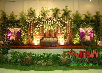 wedding decoration / dekorasi pengantin semarang