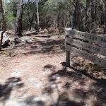 Signpost along track (106111)