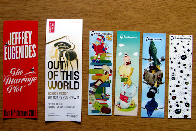 Book Depository free bookmarks