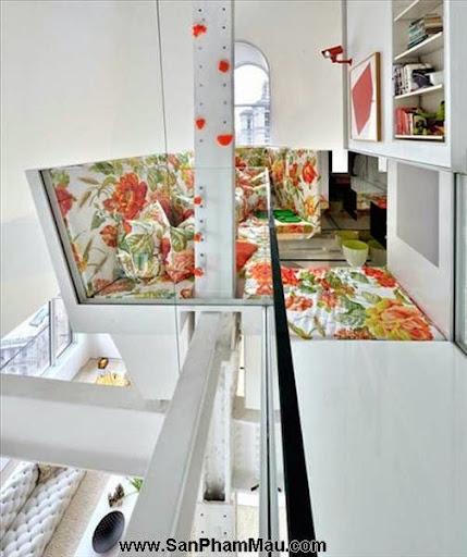 Khám phá căn hộ tươi sáng với cầu trượt thú vị cho trẻ nhỏ : Nội thấ căn hộ-15