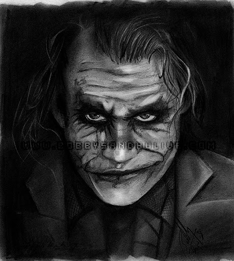 The Dark Knight Joker Pencil Drawing My Traditional