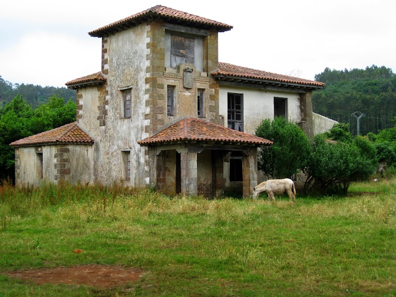 leerstehende Villa
