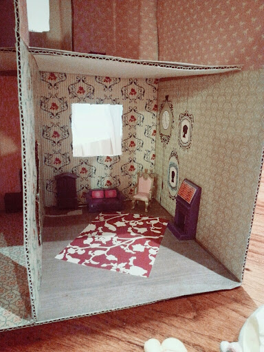 how to make a dollhouse out of paper