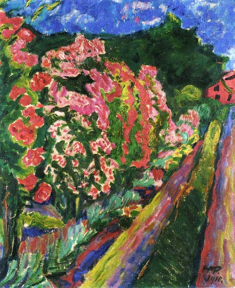 Max Pechstein - The Edge of the Garden