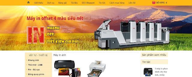 Share template bán hàng cho blogspot chuyên nghiệp chuẩn seo