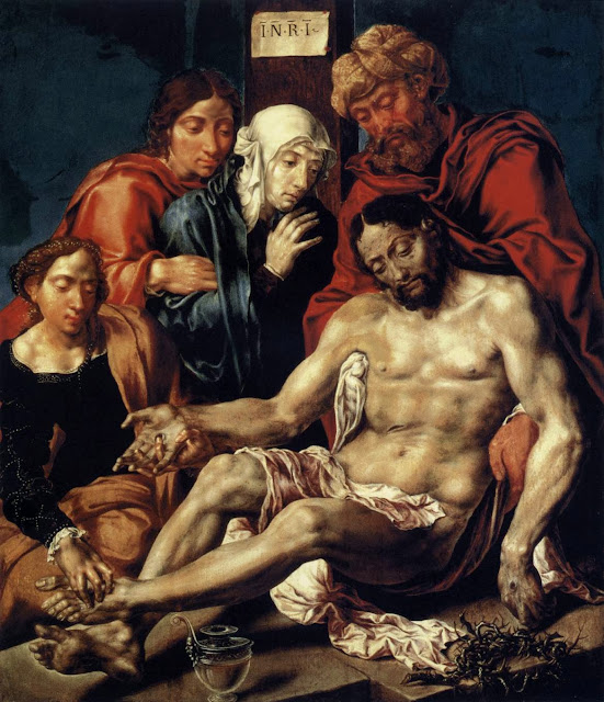 Maarten van Heemskerck - Lamentation of Christ