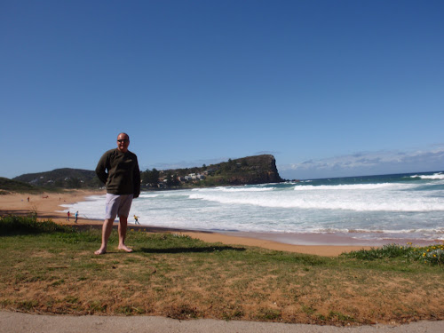 Scott at Avalon Beach, Sydney