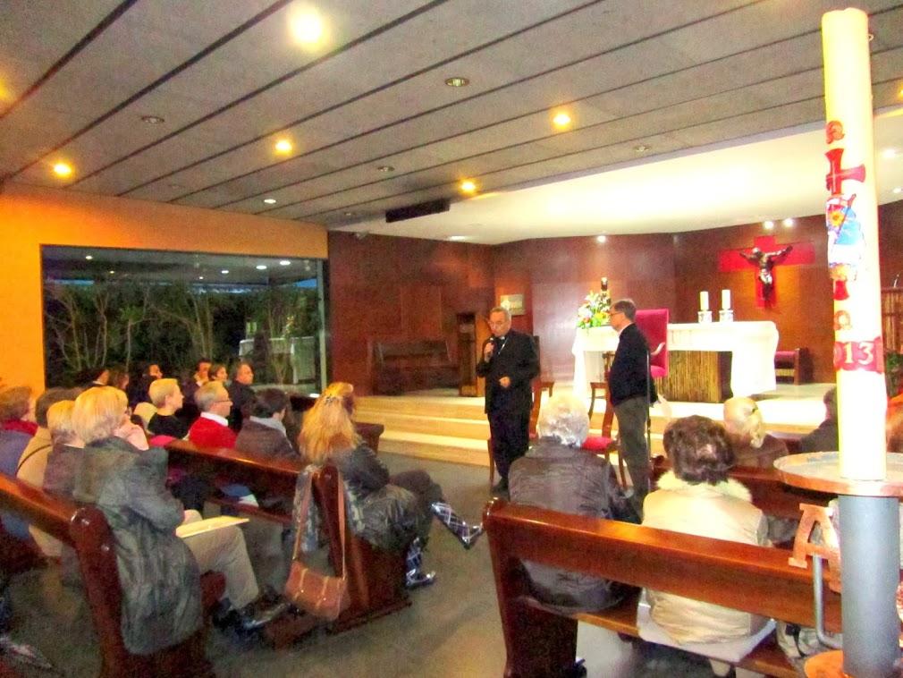 Trobada a Sant Ramon amb els col·laboradors/es parroquials