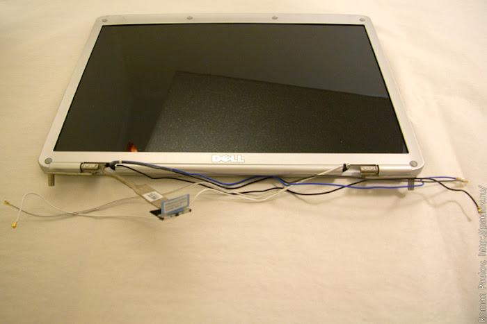 Как разобрать ноутбук Dell Inspiron 1525 19