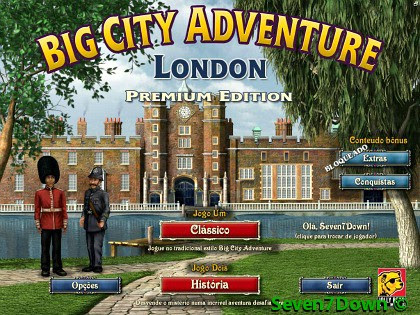 Big City Adventure: London Premium Edition Em Português