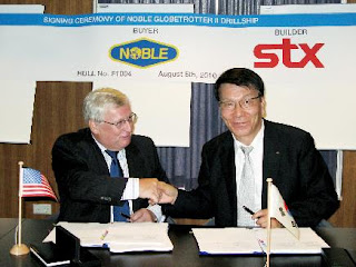 STX orders drillship equip from STEP
