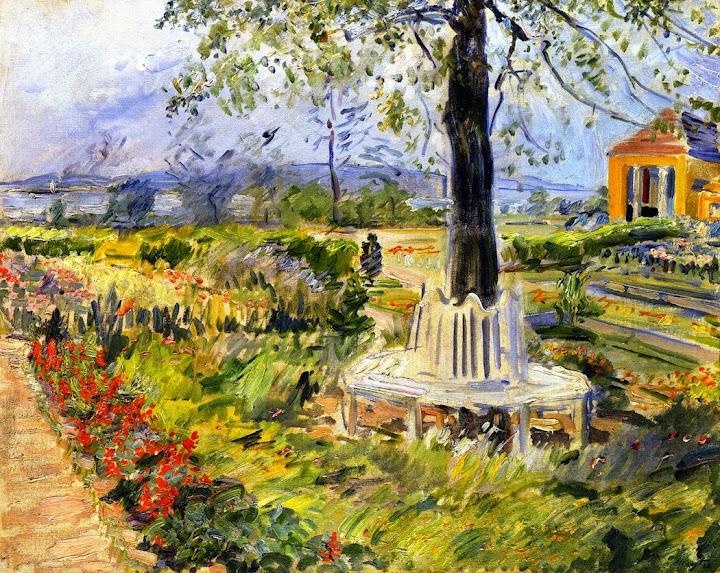 Max Slevogt - Garden in Neu-Cladow, 1912