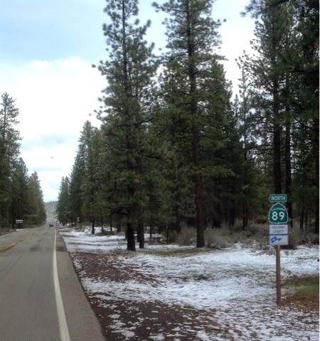 California Highway 89 North