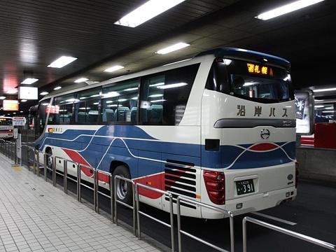 沿岸バス「特急はぼろ号」・391 札幌駅前ターミナル到着 その2