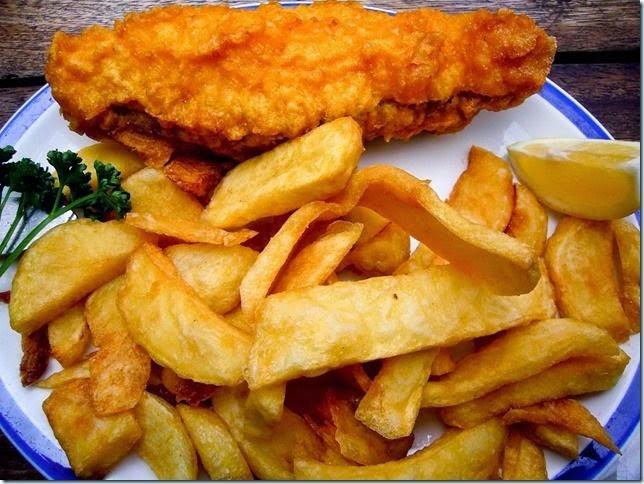 Fish and Chips. El desayuno tradicional británico