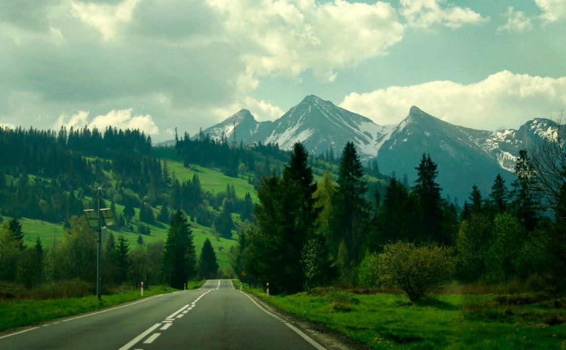 Jurgów - widok na Tatry Bielskie