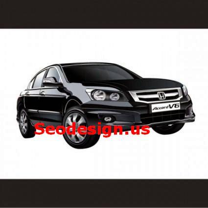 Free Honda V6 Vector Art