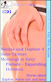 Cherish Desire: Very Dirty Stories #36, Nicolas and Daphne 4, Daphne, Sans Closure, Anime Girl, Theta, Blue, Mornings in Grey: Prelude - Expanding Horizons, Grey, Max, erotica