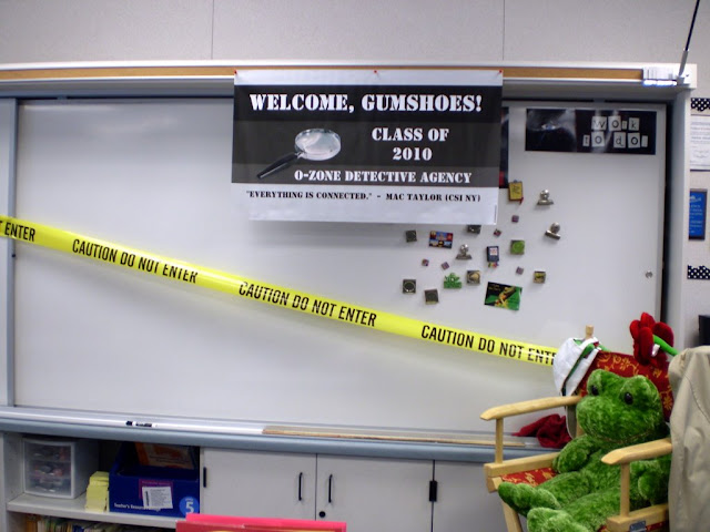 Classroom Theme: Detectives! www.SproutClassrooms.com