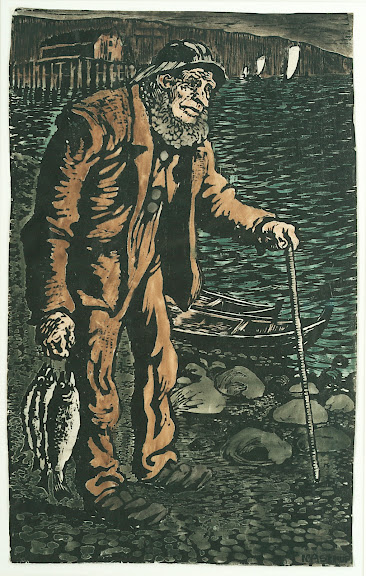 Nikolai Astrup - The Fisherman
