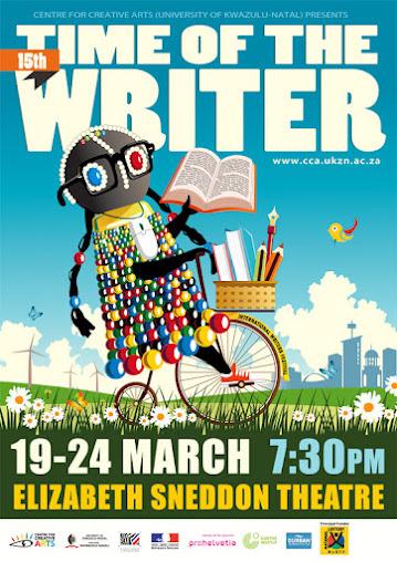 time writer international writer festival kwazulu natal durban south africa sudáfrica
